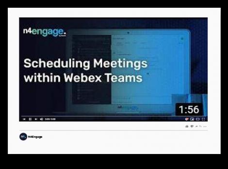 N4Engage Video_Webex Teams