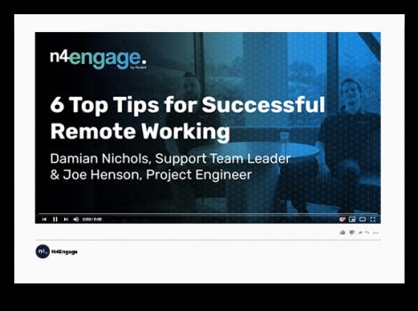 N4Engage Video Mockup_Remote Working